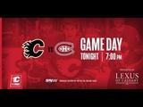 NHL 19 PS4. REGULAR SEASON 2018-2019 Montreal CANADIENS VS Calgary FLAMES. 11.15.2018. (NBCSN) !