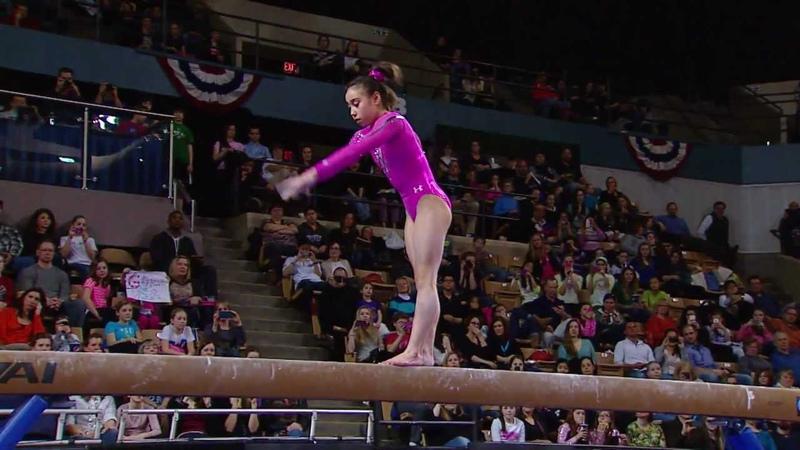 Katelyn Ohashi - Balance Beam - 2013 ATT American Cup