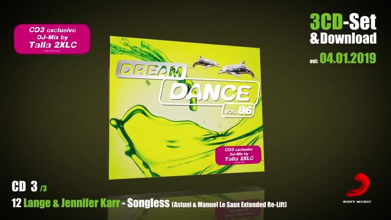Talla 2XLC @ Dream Dance Vol.86 (Minimix) (Club Sounds TV) (2018-12-12) BEMC