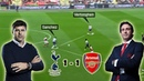 Tactical Battle of North London Derby | Tottenham vs Arsenal 1-1 | Tactical Analysis