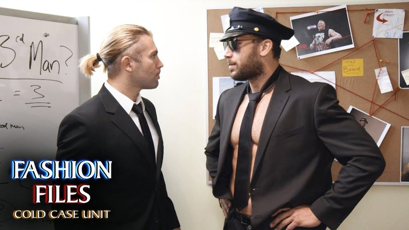 Breezango hunt for Kevin Owens' pie face perpetrator: Fashion Files: Cold Case Unit