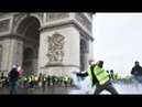 Arc de Triomphe damaged 66 600 days after July 29 1836 inauguration in Yellow Jacket riots