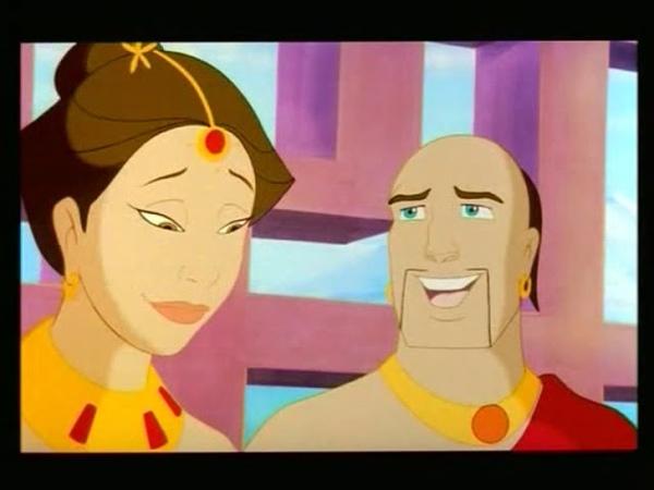 Будда мультфильм индия