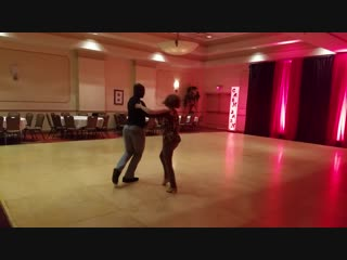 CASH Bash 2018. Thursday Late Night Hustle Dancing. Byron Doss & Denise McIntosh | Feelin' Single - R. Kelly
