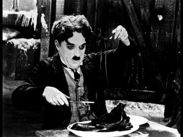 Чарли Чаплин - Золотая Лихорадка (1925) - (1942 recut; субтитры)