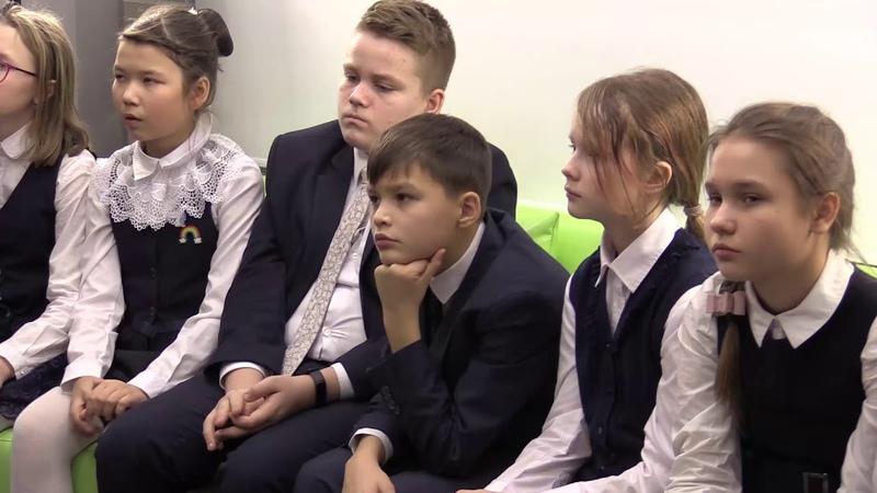 Мастер-классы наставников для юных волонтеров школы
