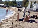 Крым. Евпатория, пляж 7 октября, 2018 г