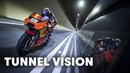 Blasting Through The Gleinalm Tunnel On The KTM Factory Racing MotoGP Bike