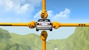 Beamng drive Barely Possible car Stunts