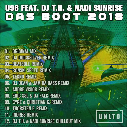 U96 альбом Das Boot 2018 (feat. DJ T.H., Nadi Sunrise)