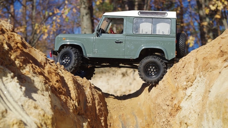 Москва. Лыткаринский карьер. Traxxas TRX-4 Land Rover Defender. Hsp Boxer. Axial 2. RC4WD.