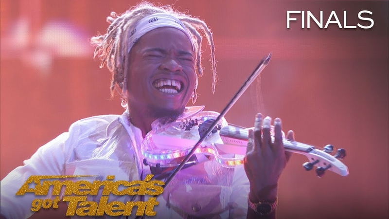 Brian King Joseph Violinist Shatters Expectations With Heartless America's Got Talent 2018