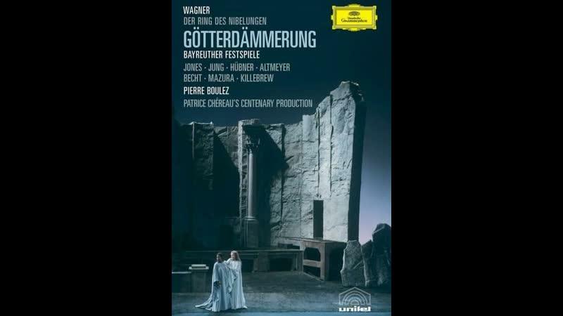Wagner. Götterdämmerung / Boulez, 1980