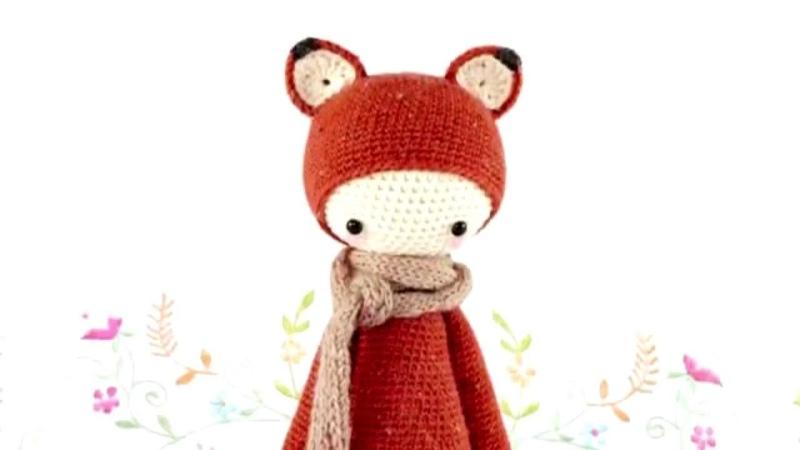 Амигуруми: схема Лисы Lalylala. Игрушки вязаные крючком! Free crochet patterns.