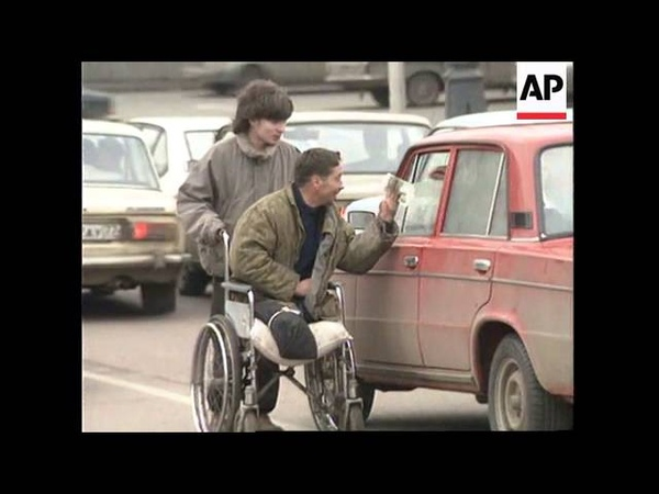 RUSSIA: MOSCOW: DISABLED PEOPLE CLOSE TO DESPAIR