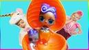 Alice Pretend Play Dress Up Kids Toy | ШОУ КОСТЮМОВ | НОВЫЙ БОЛЬШОЙ ОРАНЖЕВЫЙ ШИПУЧИЙ СЮРПРИЗ ЛОЛ