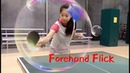 How to play forehand flick ——Yangyang's table tennis lessons