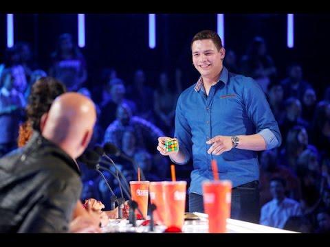 BEST Magic Show in the world Genius Rubik 's Cube Magician America 's Got Talent