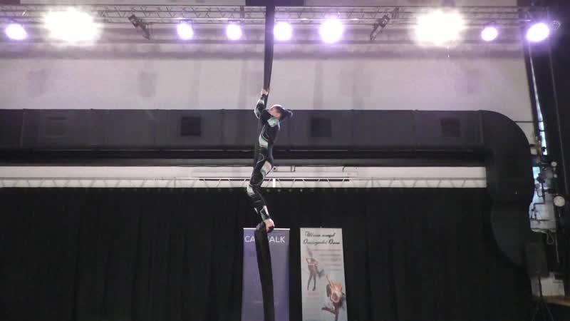 Евгения Домокеева Catwalk Dance Fest pole dance aerial 30 04 18
