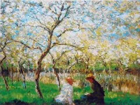 Gabriel FAURE': Pavane, Op. 50 - Paintings By CLAUDE MONET