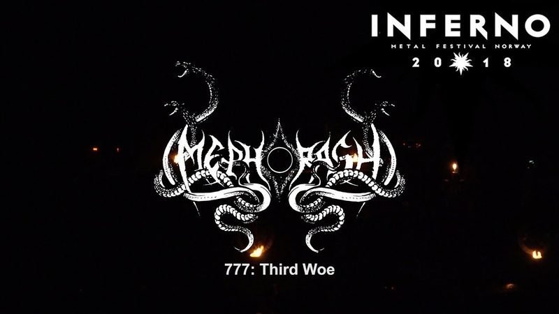 Mephorash - 777: Third Woe Live at Inferno Metal Festival 2018