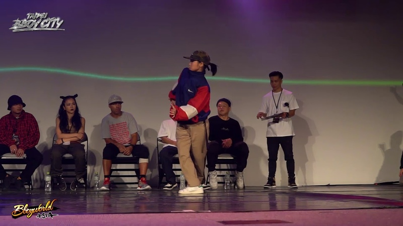 Tsukki vs Yuina | Final | Kids All Style 1on1 | Taipei Bboy City x HRC 18th Anniversary