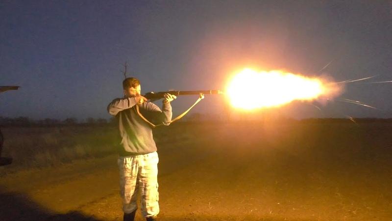 Стрельба из ППШ и Винтовки Мосина СХП