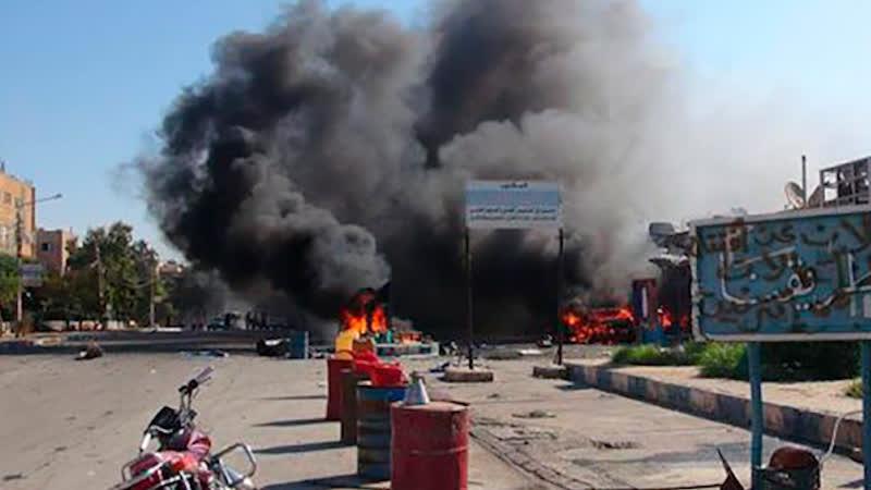 Сирия: США атаковали правительственные войска в Хомсе | 3 декабря | Утро | СОБЫТИЯ ДНЯ | ФАН-ТВ