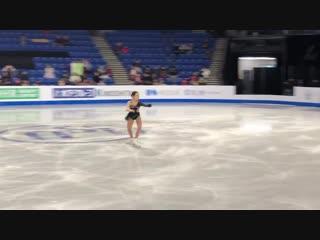 Satoko Miyahara 2018 GPF FS Practice 12.8.18