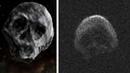 Астероид в ФОРМЕ ЧЕРЕПА вплотную пролетел возле Земли