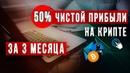 Как заработать 50% чистой прибыли за 3 месяца на криптовалюте Bitcoin Ethereum