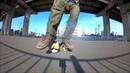 Freeline skates trick tutorial - HEEL KICK FLIP