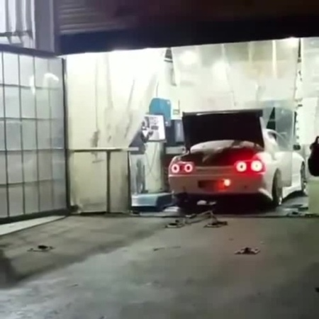 Fucking RB26DETT Shooting Bullets Out the exhaust. That's For Ya r32 Gtr