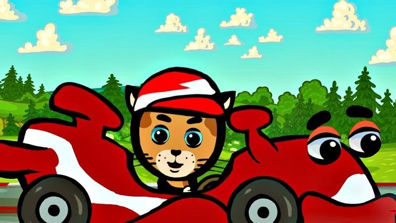 Котяткины машинки - Жми на газ! | Три Котёнка | Мультсериал для малышей