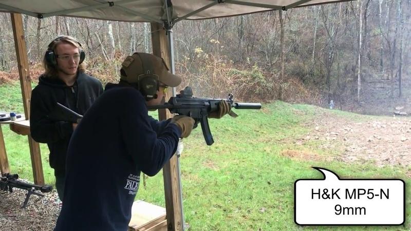 Test Fire of 43 Machine Guns - One Take, No Edits