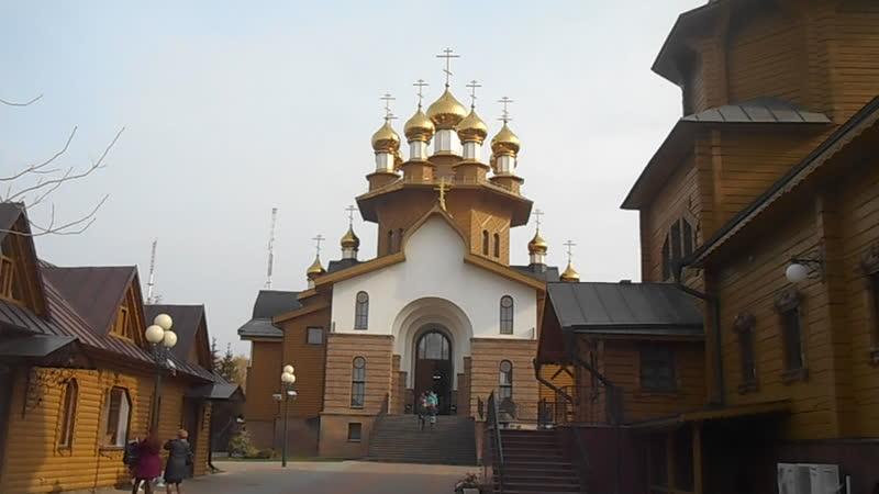 г Белгород деревянная церковь Веры Надежды Любови и матери Софии