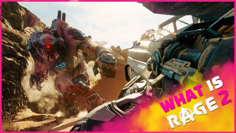 What is RAGE 2 Official Trailer