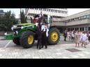 Свадьба на тракторе John Deere КРУТО
