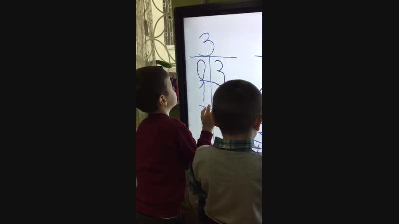 Работа по составу числа в студии Веснушка симферополь