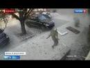Как вынесло Захарченко Зажарченко. Запись с камер наружного наблюдения Донецк