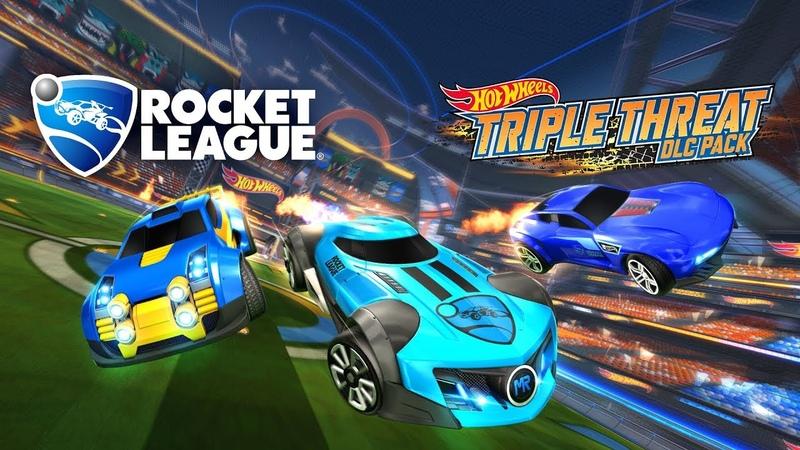Rocket League® Hot Wheels® Triple Threat DLC Pack Trailer