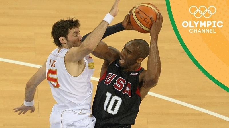 Spain vs USA Gold Medal Match Beijing 2008 Throwback Thursday