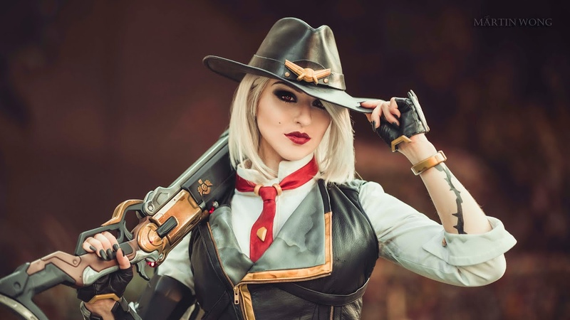 Overwatch's Ashe brought to life | Blizzcon 2018