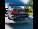 BMW E34 M60B30 wydech v12 na przelocie