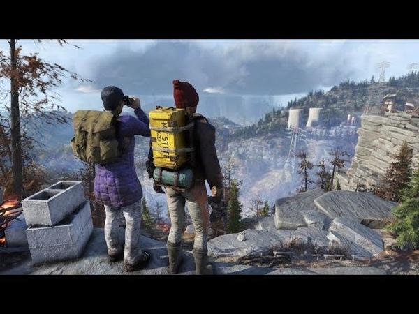 Fallout 76 Испытание скаутов - Териолог. Значок для получения Рюкзака.