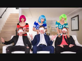 Valentina Nappi, Abella Danger, Vicki Chase [Full HD 1080 porno, group sex, Cosplay orgy, swing, big ass, tits, boobs, hardcore]
