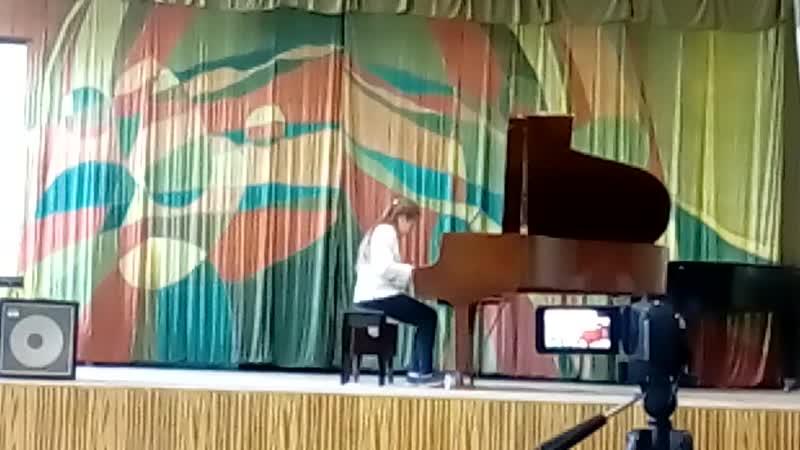 Фестиваль фортепианной музыки В мире джаза вальс Воспоминание