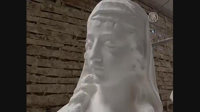 Статуи из бумаги