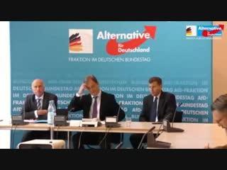 AfD Pressekonferenz. Ursula von der Leyens Maulkorberlass ist untragbar. 22.10.2.mp4