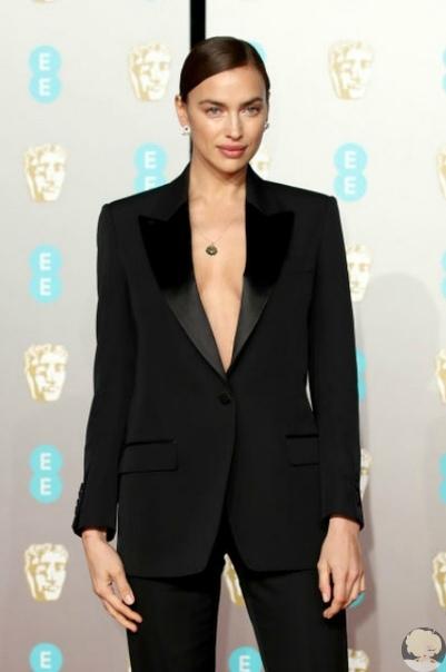 Ирина Шейк и Брэдли Купер присоединились к гостям премии BAFTA-2019